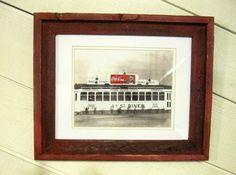 Vintage Coca Cola Diner Photograph Red Barnwood by Sisters2Vintage, $75.00