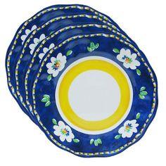 Campania Dinner Plate in Blue