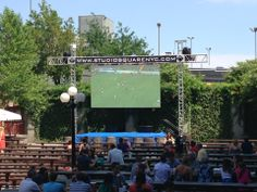 The Garden at Studio Square in Long Island City, NY: Big outdoor space, great food and great ambiance from @alextabar. Find more places to watch the World Cup in the USA: http://pin.it/AeGWA1a