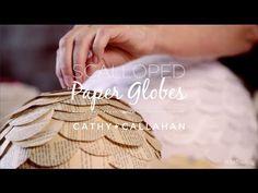 Make Paper Globes with Cathy Callahan on Creativebug @Creativebug on Pinterest