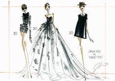 309 best fashion illustration - Alexander McQueen (by for him) 96