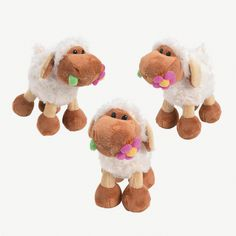 Plush Lambs With Flower - OrientalTrading.com 28.00 dz
