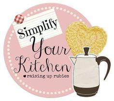Raising up Rubies: simplify your kitchen ~ organize kiddie drawers ... ♥