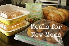 Meals for new moms from Stick a Fork In It
