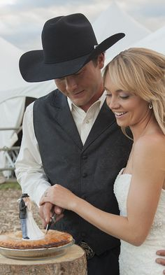 Amber Marshall's wedding