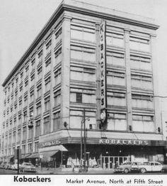 Kobacker's Dept Store 1960