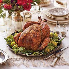 Dry Brined-Herb Roasted Turkey | MyRecipes.com