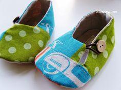dakota baby booties pattern