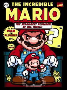The Incredible #Mario by Harebrained