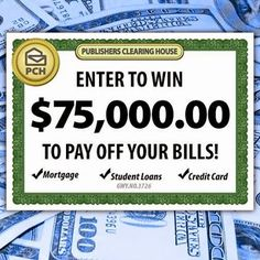 PCH on Google +....Bills, bills, bills! We all hate them. Enter today for your chance to win $75,000 to pay them off! http://bit.ly/_75KToPayOffBills_