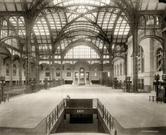 Penn Station: 1910 #NYC #hotel #NY #RowNYC #thingstodo