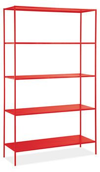 Slim Shelves in Colors - Bookcases & Shelves - Living - Room & Board