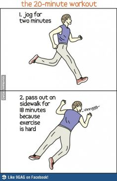 The 20-Minute Workout- laughed real hard at this one...