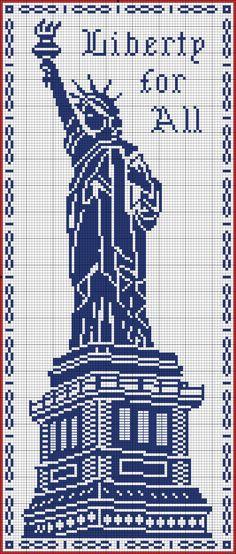 Points de croix *@* cross stitch Liberty