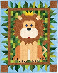 Regal Patch Crib Quilt Kit http://www.quiltandsewshop.com/product/regal-patch-crib-quilt-kit/quilting-kits-quiltmaker-kits