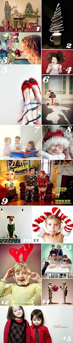 fun and hilarious ideas for Christmas photos