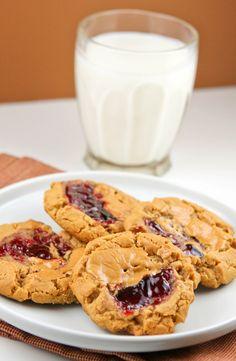PB and J cookies!