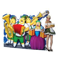 German Band Standee Decoration for #Oktoberfest!