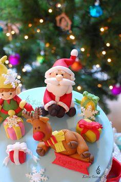 Christmas cupcake - bjl