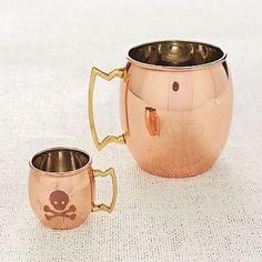 Moscow Mule Copper Mug - love copper mule mugs