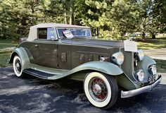 Unrestored, all-original 1932 Packard 900-Series Roadster Coupe