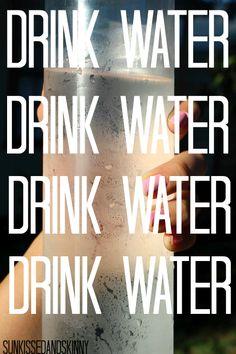 Love my water......