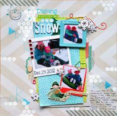 Dashing Through The Snow - Scrapbook.com