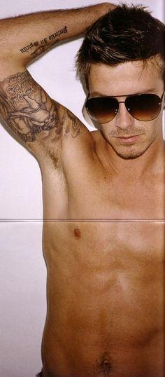 David Beckham. Sex machine.