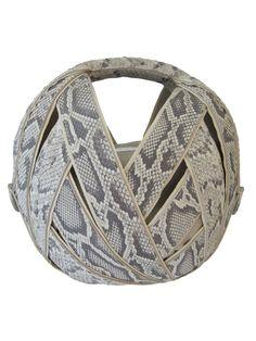 Python ball bag by Perrin Paris