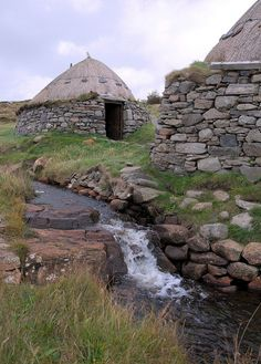 The Norse Mill at Shawbost, Isle of Lewis, Outer Hebrides, is a reconstruction of an Iron Age corn mill that once existed on the site