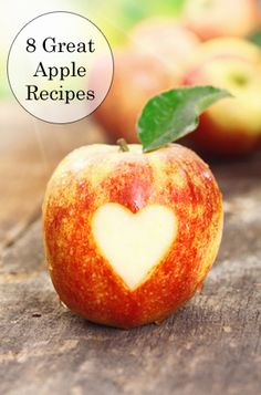 Use your apples and be frugal to the core with these eight great apple recipes, from apple butter to apple crisp.