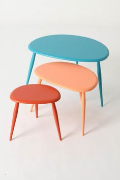 Love these tables.