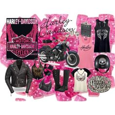 Harley Davidson ~ Love to Ride and Love my Harley Clothes!