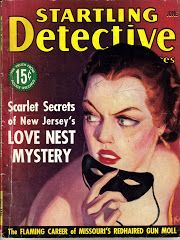 Startling Detective Magazine with Vivian Chase Article