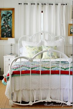 Here Comes the Sunshine:  Tour of a Beach Cottage