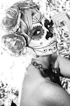 Mexican Sugar Skull by ~retrotrashphotogrphy