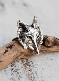FOX Brooch by redtruckdesigns