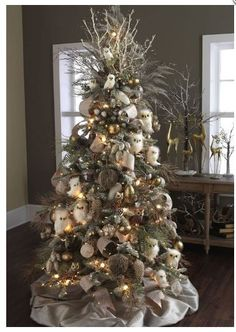 perfectlyfestive | Forest Frost Tree