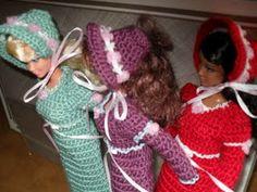 Fashion Doll Coal Scuttle Outfit - Hazel3Crochets