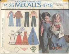 Sunshine Family pattern - McCall's 4716