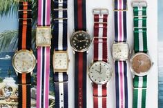 Watch Bands. I want it all!