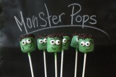 Marshmallow Monster Pops | Munchkin Munchies