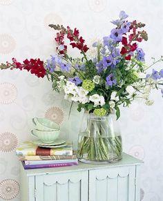 Swedish flower arrangement