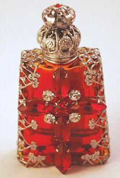 Reproduction vintage Czech perfume bottle
