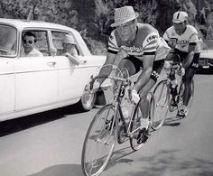 Rudi Altig, German cyclist, at the 1962 Tour de France