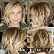 short+bob+wavy+blonde+hair