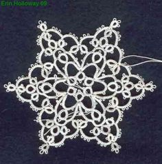 erin's snowflake tatting pattern