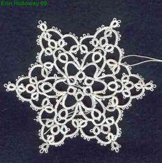 erin's snowflake tatting pattern