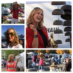 You can always find a lot of fun (and costumes) at flea markets #FleaMarketFlip