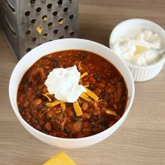 Slow Cooker Chipotle Chili